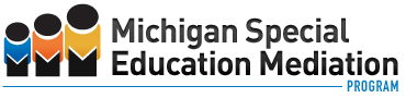 Michigan Special Education Mediation Program Logo